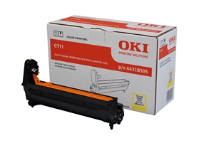 Drum Unit Oki C711 Yellow, Màu vàng